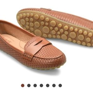 Nwt Born Malena Embossed Loafers, sz 10M